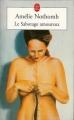 Couverture Le sabotage amoureux Editions Le Livre de Poche 2003