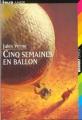 Couverture Cinq semaines en ballon Editions Folio  (Junior) 2003