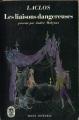 Couverture Les liaisons dangereuses Editions Le Livre de Poche 1958