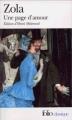 Couverture Une page d'amour Editions Folio  (Classique) 2008