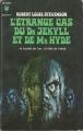 Couverture L'étrange cas du docteur Jekyll et de M. Hyde / L'étrange cas du Dr. Jekyll et de M. Hyde / Docteur Jekyll et mister Hyde / Dr. Jekyll et mr. Hyde Editions Marabout 1970