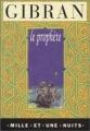 Couverture Le prophète Editions Mille et une nuits 1994