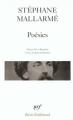 Couverture Poésies Editions Gallimard  (Poésie) 1994