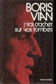 Couverture J'irai cracher sur vos tombes Editions France Loisirs 1974
