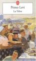 Couverture La Trêve Editions Le Livre de Poche 2003