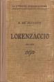 Couverture Lorenzaccio Editions Didier Jeunesse (La littérature française illustrée) 1936