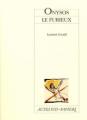 Couverture Onysos le Furieux Editions Actes Sud (Papiers) 2000