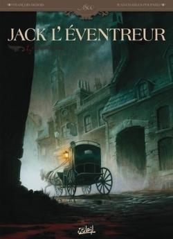 Couverture Jack l'Éventreur, tome 1 : Les liens du sang