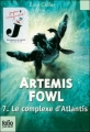 Couverture Artemis Fowl, tome 7 : Le Complexe d'Atlantis Editions Folio  (Junior) 2012