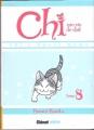 Couverture Chi, une vie de chat, tome 08 Editions Glénat (Kids) 2012