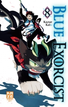 Couverture Blue Exorcist, tome 08