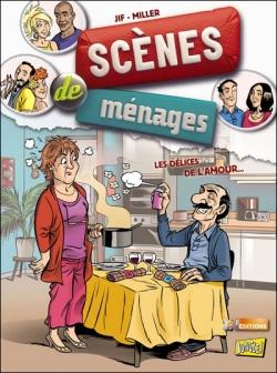 Couverture Scènes de ménages, tome 02 : Les délices de l'amour...