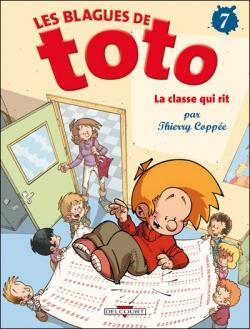 Couverture Les blagues de Toto, tome 07 : La classe qui rit
