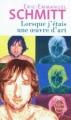 Couverture Lorsque j'étais une oeuvre d'art Editions Le Livre de Poche 2012