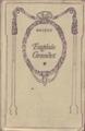 Couverture Eugénie Grandet Editions Nelson 1917