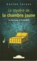 Couverture Le mystère de la chambre jaune Editions Maxi Poche (Policiers) 2001