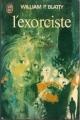 Couverture L'exorciste Editions J'ai Lu 1978