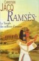 Couverture Ramsès, tome 2 : Le temple des millions d'années Editions France Loisirs 1996
