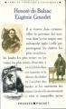 Couverture Eugénie Grandet Editions Presses pocket (Lire et voir les classiques) 1989