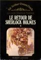 Couverture Le retour de Sherlock Holmes, tome 1 Editions Robert Laffont 1975