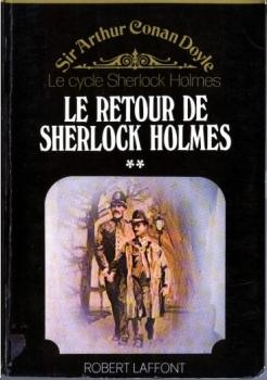 Couverture Le retour de Sherlock Holmes, tome 2