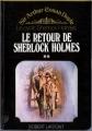 Couverture Le retour de Sherlock Holmes, tome 2 Editions Robert Laffont 1975