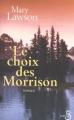 Couverture Le choix des Morrison Editions Belfond 2003