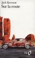 Couverture Sur la route Editions Folio  2000
