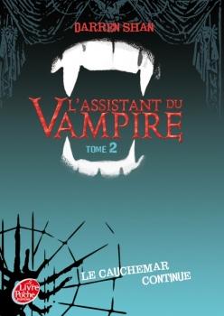 Couverture L'assistant du Vampire, tome 02 : Le cauchemar continue
