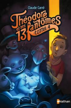 Couverture Théodore et ses 13 fantômes, tome 4 : Pacôme, le fantôme qui adore les câlins
