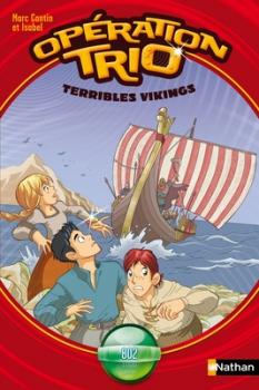 Couverture Opération trio, tome 09 : Terribles Vikings