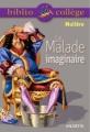 Couverture Le malade imaginaire Editions Hachette (Biblio collège) 2008