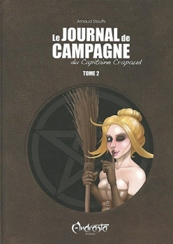 Couverture Le Journal de campagne du Capitaine Crapaud, tome 2