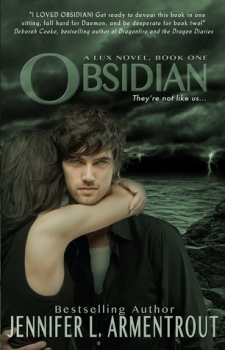 Couverture Lux, book 1: Obsidian