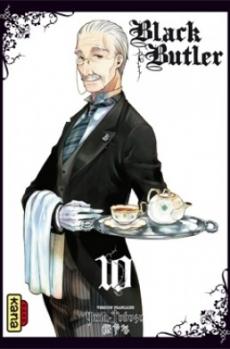 Couverture Black Butler, tome 10