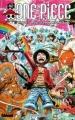 Couverture One Piece, tome 62 : Périple sur l'île des hommes-poissons Editions Glénat 2012