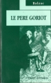Couverture Le père Goriot Editions JC Lattès 1995