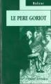 Couverture Le Père Goriot Editions JC Lattès 1995