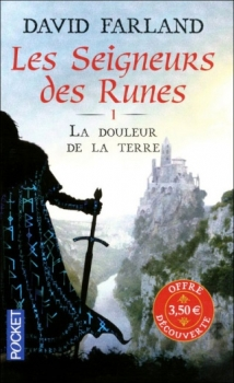 Couverture Les Seigneurs des Runes, tome 1 : La douleur de la terre