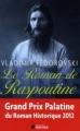 Couverture Le roman de Raspoutine Editions du Rocher (Le roman des lieux et destins magiques) 2011