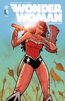 Couverture Wonder Woman (Renaissance), tome 1 : Liens de Sang