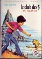 Couverture Le club des cinq en vacances Editions Hachette (Bibliothèque rose) 1973