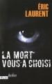Couverture La mort vous a choisi Editions Plon (Thriller) 2009