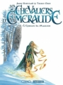 Couverture Les Chevaliers d'Émeraude (BD), tome 2 : L'épreuve du magicien Editions Casterman 2012