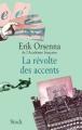 Couverture La révolte des accents Editions Stock 2007