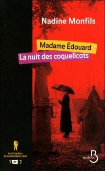 Couverture Les enquêtes du commissaire Léon, tomes 1 et 2 : Madame Edouard, La nuit des coquelicots