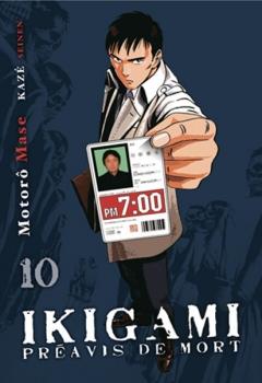 Couverture Ikigami : Préavis de mort, tome 10