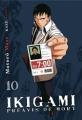 Couverture Ikigami : Préavis de mort, tome 10 Editions Kazé (Seinen) 2012