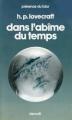 Couverture Dans l'abîme du temps Editions Denoël (Présence du futur) 1976