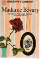 Couverture Madame Bovary Editions J'ai lu 1961